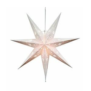 Závěsná svítící hvězda Best Season Metasol Snow, 70 cm