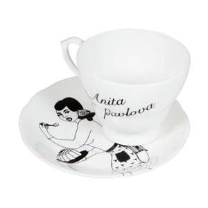 Šálek s talířkem Anita Pavlova