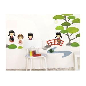 Samolepka na zeď Japonská zahrada