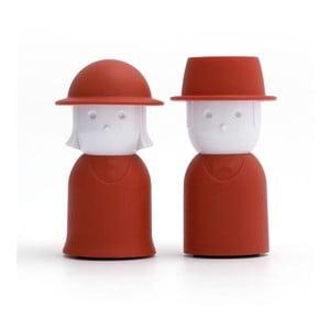Červená slánka a pepřenka Qualy&CO Mr.Pepper & Mrs. Salt