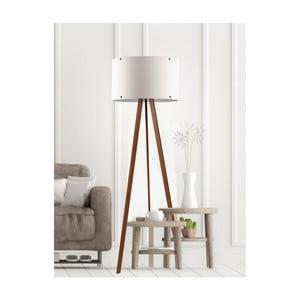 Bílá stojací lampa Simple