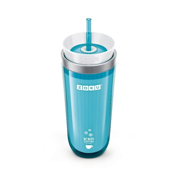 Modrý kelímek na ledovou kávu Zoku Iced Coffee