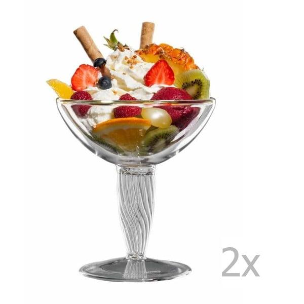 Sada 2 skleněných pohárů bloomix Luca