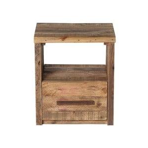 Dřevěný noční stolek SOB Mojito