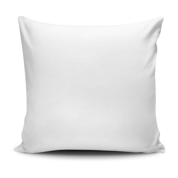 Polštář s příměsí bavlny Cushion Love Roses, 45 x 45 cm
