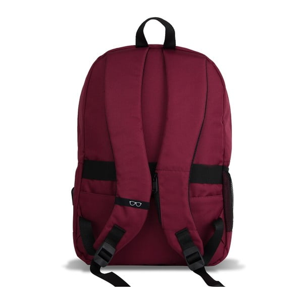 Rucsac cu port USB My Valice SPECTA Smart Bag, vișiniu