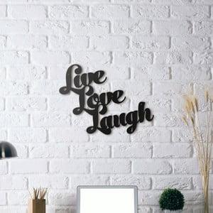 Dekorace na stěnu Live Love Laugh