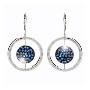 Cercei Swarovski Elements Laura Bruni Circle