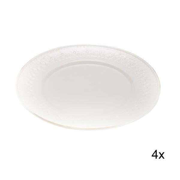 Sada 4 talířů Florena, 20 cm
