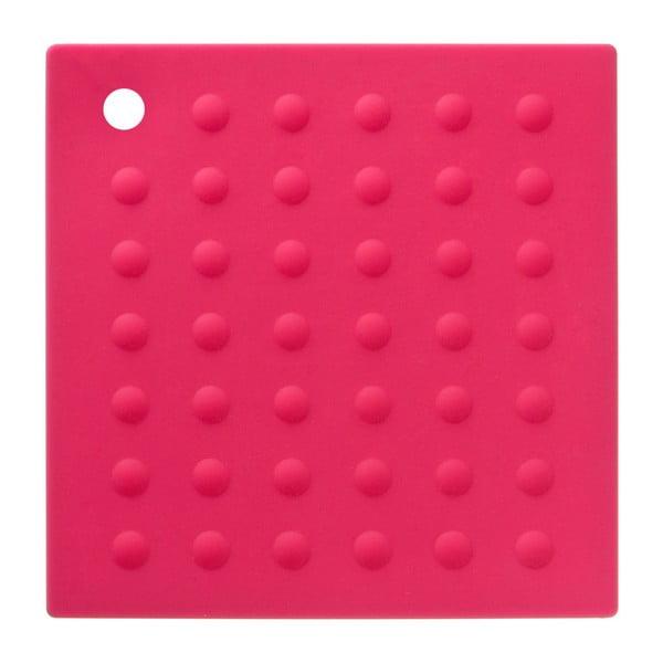 Różowa silikonowa podkładka pod garnki Premier Housewares Zing