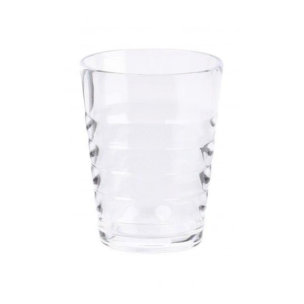 Sada čirých skleniček Contour, 2 ks