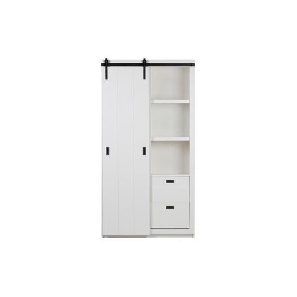Slide fehér tolóajtós szekrény - vtwonen