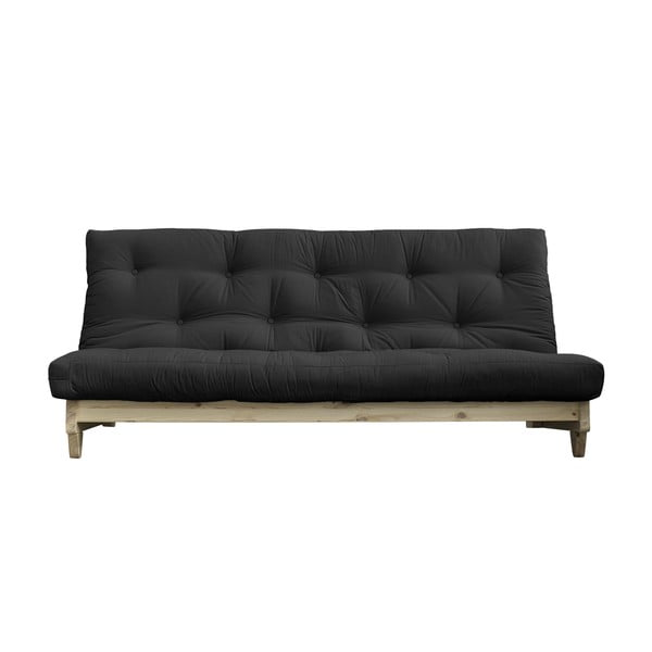 Sofa rozkładana Karup Design Fresh Natural Clear/Dark Grey