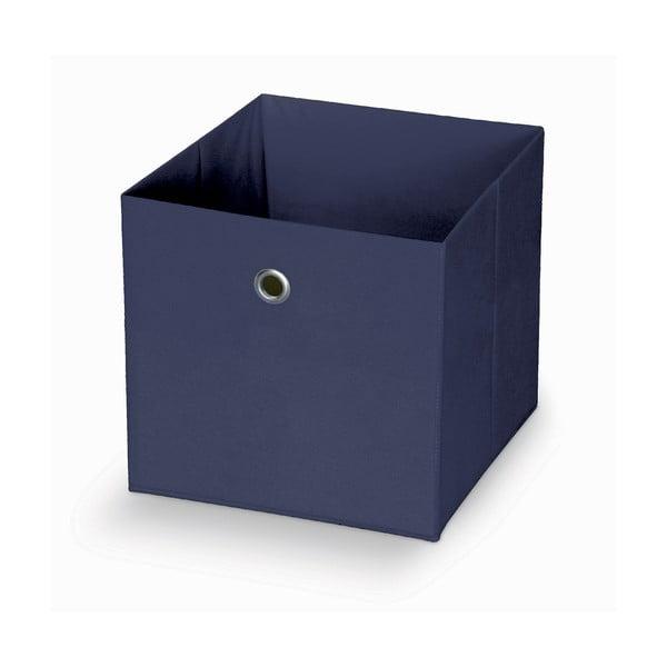 Cutie pentru depozitare Domopak Stone,32x32cm, albastru închis