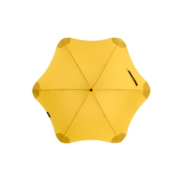 Vysoce odolný deštník Blunt XS_Metro 95 cm, žlutý