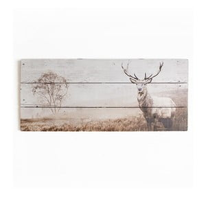 Dřevěný obraz Graham & Brown Stag,70x30cm