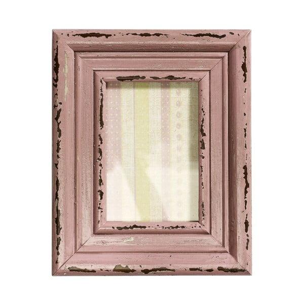Dřevěný rám Memory, růžový