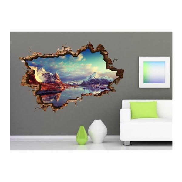 Autocolant de perete 3D Art Janne, 135 x 90 cm
