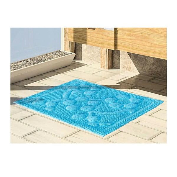Předložka do koupelny Papatya Turquoise, 50x60 cm