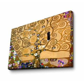 Reproducere tablou pe pânză Gustav Klimt Tree, 100 x 70 cm
