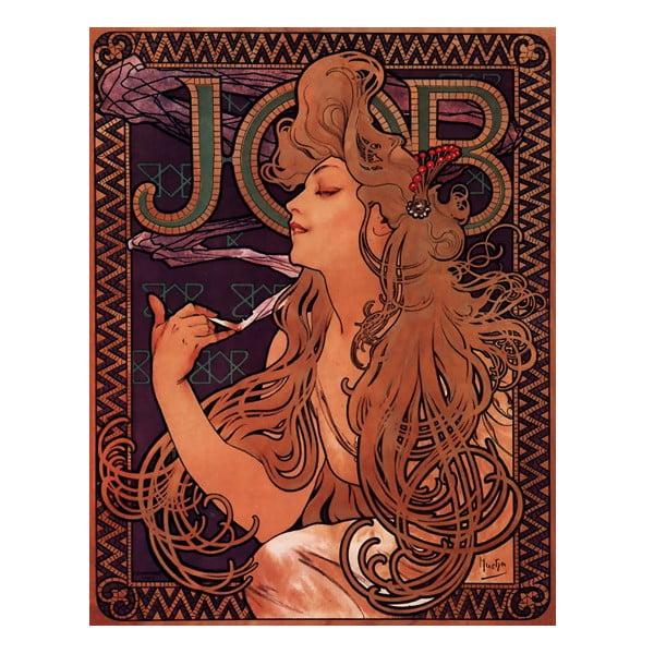 Obraz Job od Alfonse Muchy, 55x70 cm