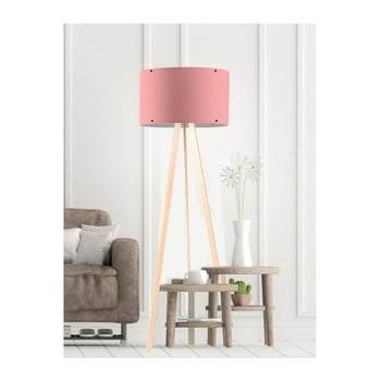Lampadar Simple roz deschis