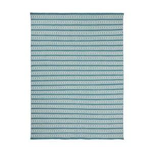 Covor țesut manual Linie Design Valmora, 200 x 300 cm, turcoaz