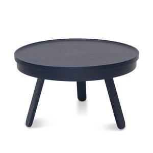 Modrý odkládací stolek s úložným prostorem Woodendot Batea M