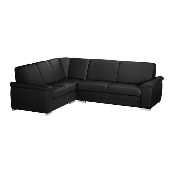 Canapea cu șezut pe partea stângă Florenzzi Bossi Medium, negru