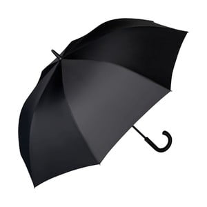 Černý holový deštník Von Lilienfeld Leo