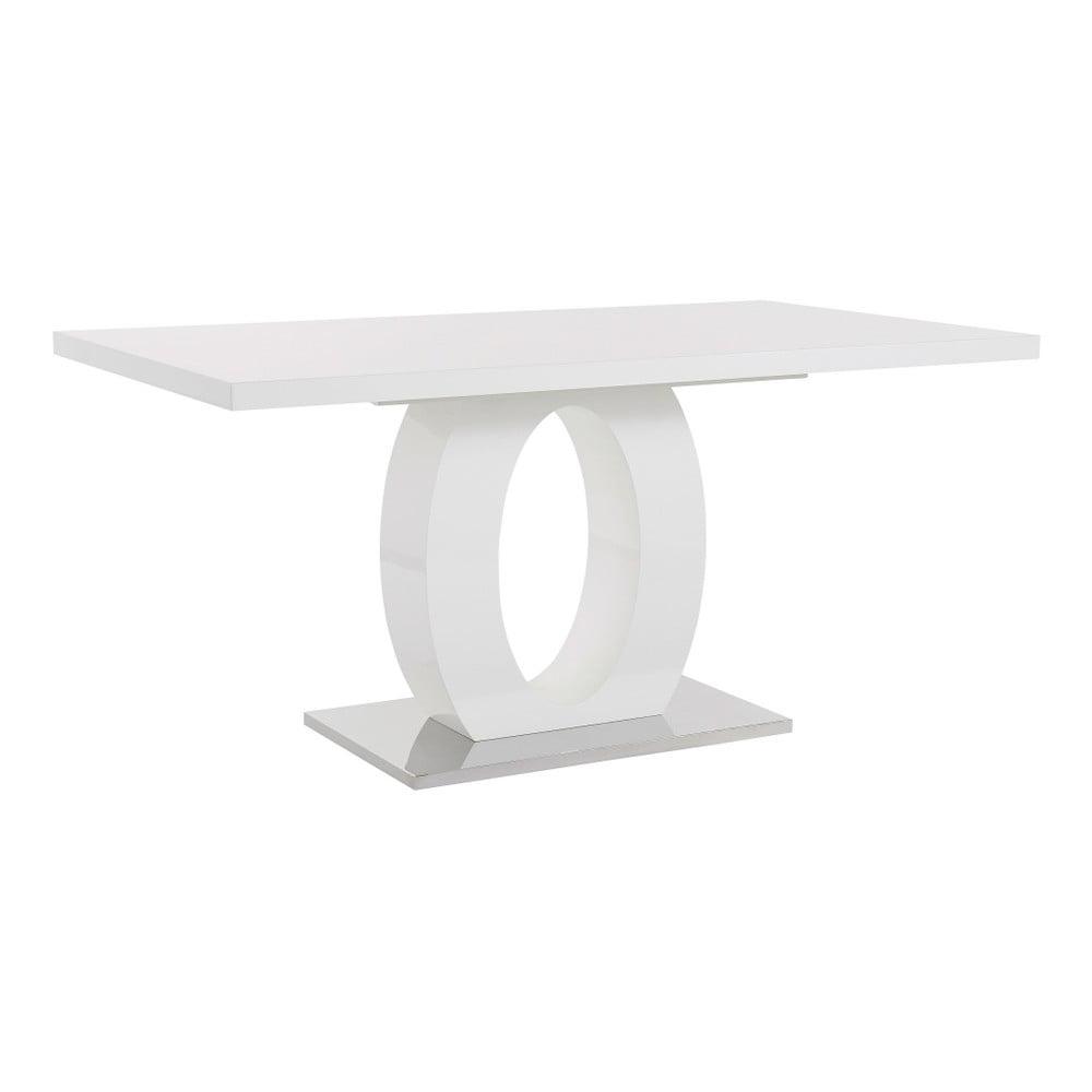 Bílý stůl ve vysokém lesku Støraa Milo