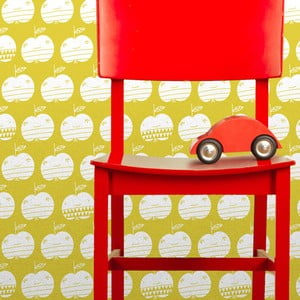 Vliesová tapeta Apples 270x46.5 cm, kari