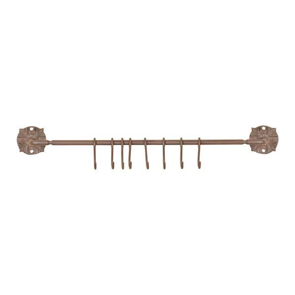Öntöttvas konzol 8 akasztóval, hosszúság 57,5 cm - Esschert Design