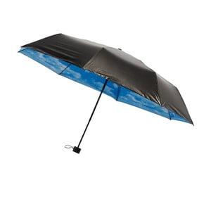 Skládací větruodolný deštník s vnitřním potiskem mraků Ambiance, ⌀95cm