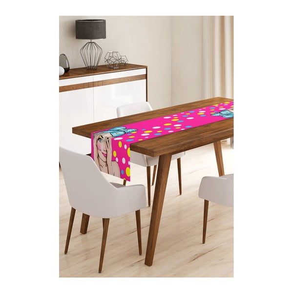 Girls mikroszálas asztali futó, 45 x 145 cm - Minimalist Cushion Covers