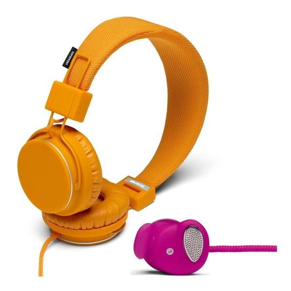 Sluchátka Plattan Pumpkin + sluchátka Medis Raspberry ZDARMA