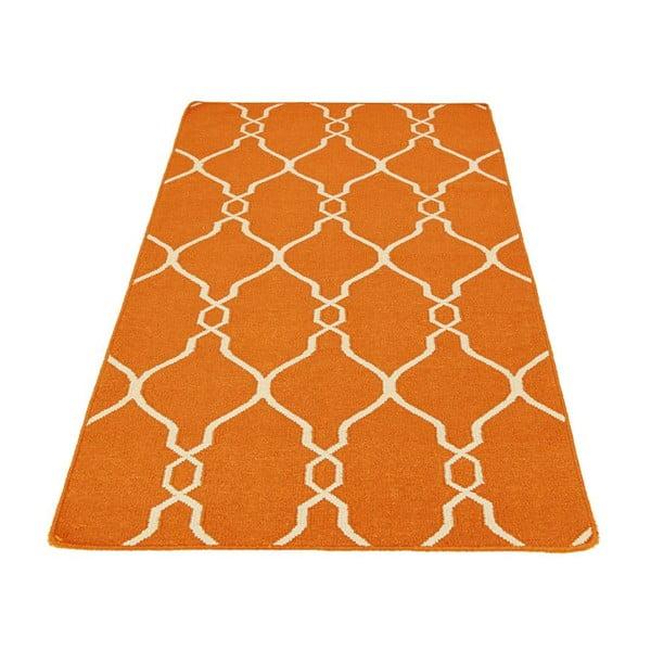 Ručně tkaný koberec Kilim JP 11164 Orange, 90x150 cm