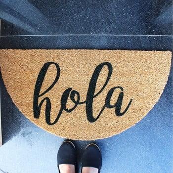Preș din fibre de nucă de cocos Hola, 70 x 40 cm imagine
