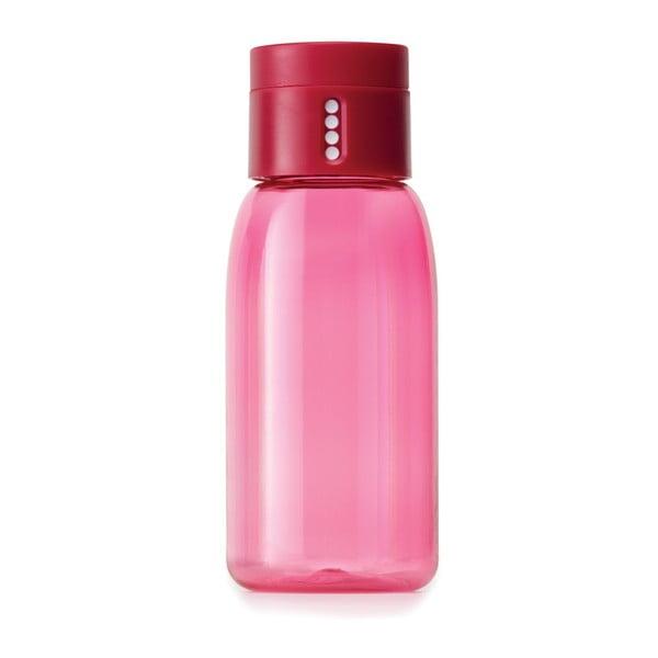Sticlă cu măsurătoare Joseph Joseph Dot, 400 ml, roz