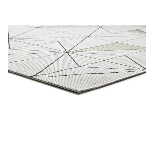 Bílý kberec Universal Slate Blanco, 80x150cm