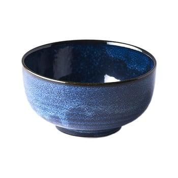 Bol din ceramică MIJ Indigo, ø16cm, albastru