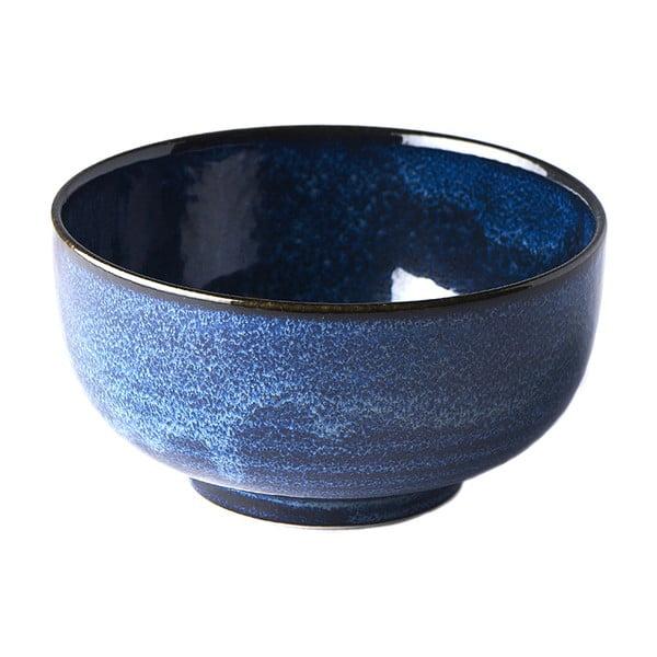 Modrá keramická miska MIJ Indigo, ø16cm