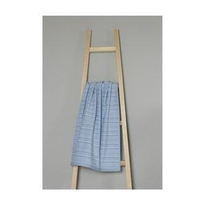 Modrý bavlněný ručník My Home Plus Spa, 50 x 90 cm