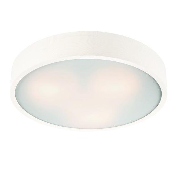 Biele kruhové stropné svietidlo Lamkur Plafond, ø 47 cm