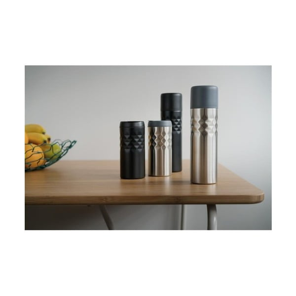 Cană termos XD Design Mosa, negru, 300 ml