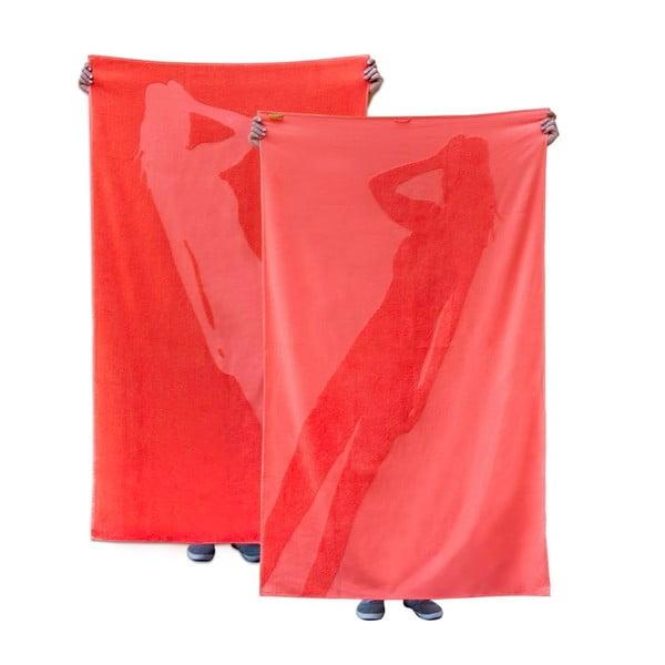 Osuška Maxi Towel Flamingo