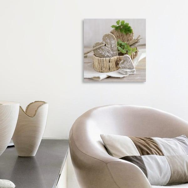 Obraz na plátně Pure Nature's Feeling 20x20 cm