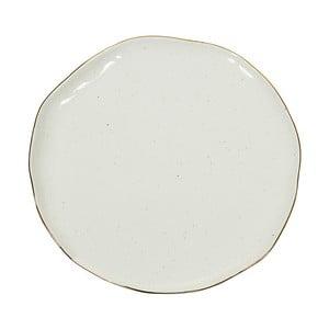 Bílý porcelánový talíř Santiago Pons Bol, ⌀26cm