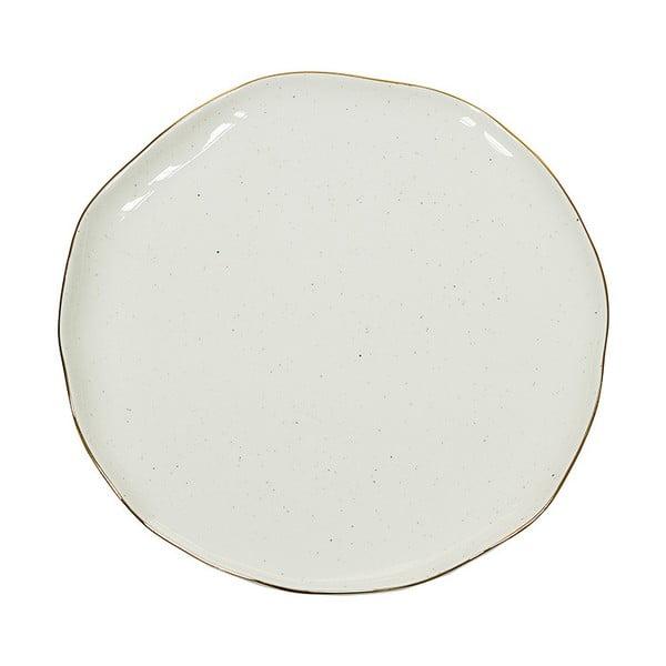 Farfurie din porțelan Santiago Pons Bol, ⌀ 26 cm, alb