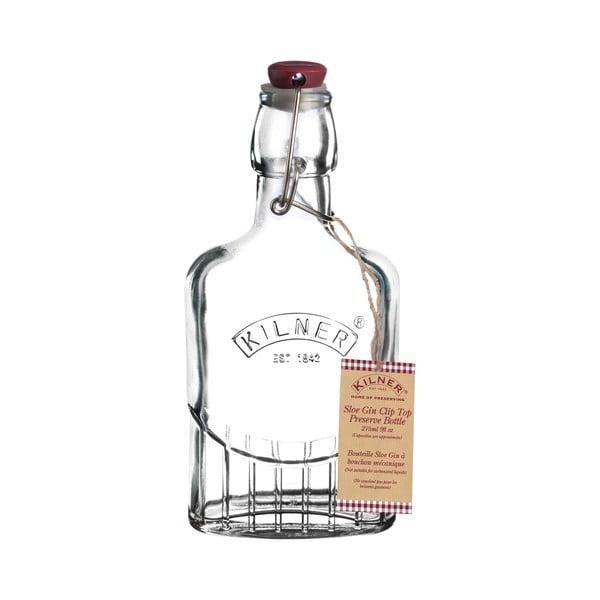 Láhev s klipem na likér/gin Kilner, 0,25l
